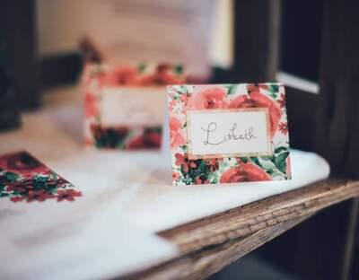 Liebe ist Heiraten Hochzeitspapeterie