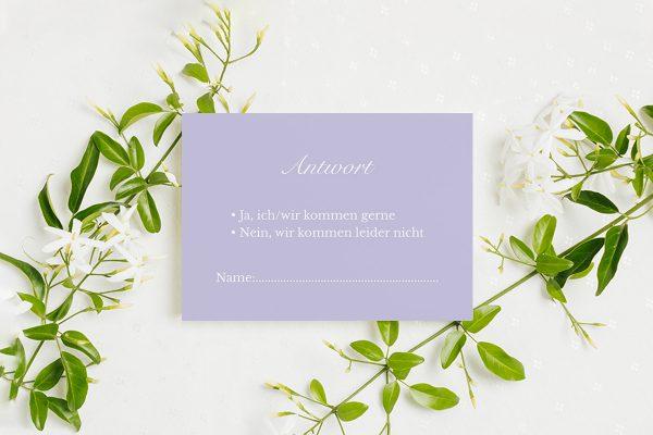 Antwortkarten zur Hochzeit Fotoglam Always  Antwortkarten