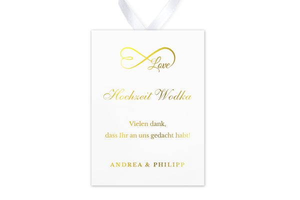Aufkleber und Anhänger Hochzeit Herzensangelegenheit unendlich Aufkleber & Etiketten Hochzeit