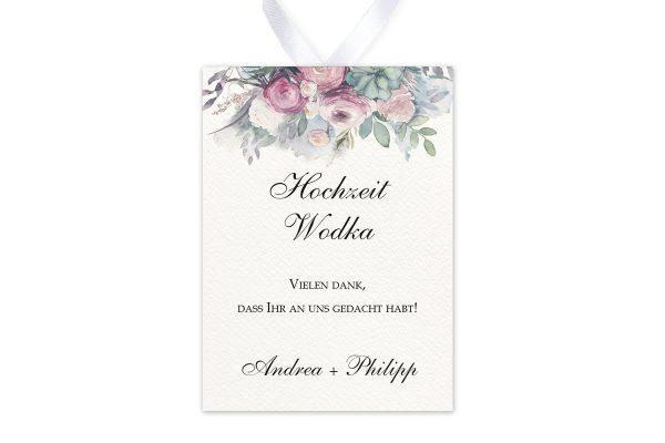 Aufkleber und Anhänger Hochzeit Aquarell Klassisch Aufkleber & Etiketten Hochzeit