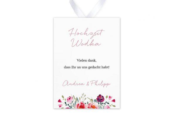 Aufkleber und Anhänger Hochzeit Blumenbeet Luftig Aufkleber & Etiketten Hochzeit