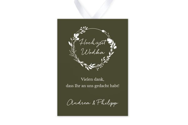 Aufkleber und Anhänger Hochzeit Runde Sache duftend Aufkleber & Etiketten Hochzeit