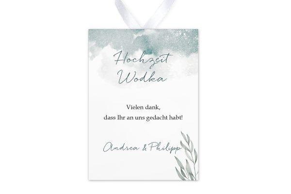 Aufkleber und Anhänger Hochzeit Palmen verträumt Aufkleber & Etiketten Hochzeit