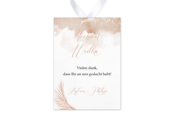 Aufkleber und Anhänger Hochzeit Palmen fernöstlich Aufkleber & Etiketten Hochzeit