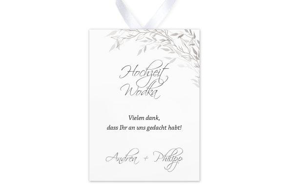 Aufkleber und Anhänger Hochzeit Zeichnung Schwarz und Weiß Aufkleber & Etiketten Hochzeit