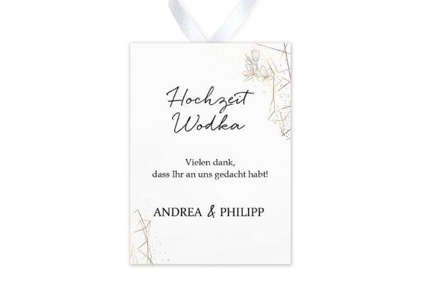 Aufkleber und Anhänger Hochzeit Floral Elegant Blütenrahmen Aufkleber & Etiketten Hochzeit