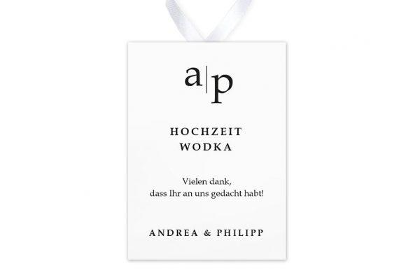 Aufkleber und Anhänger Hochzeit Modern Monogramm Aufkleber & Etiketten Hochzeit