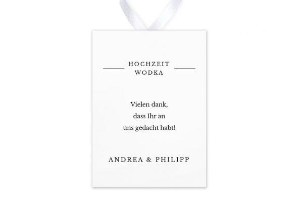 Aufkleber und Anhänger Hochzeit Modern Monogramm mittig Aufkleber & Etiketten Hochzeit