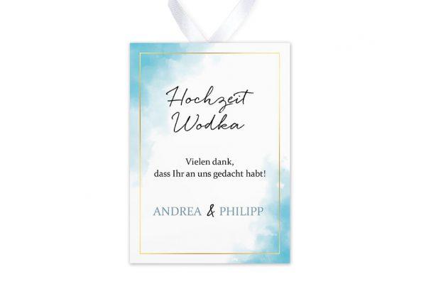 Aufkleber und Anhänger Hochzeit Himmel Wolkig Aufkleber & Etiketten Hochzeit