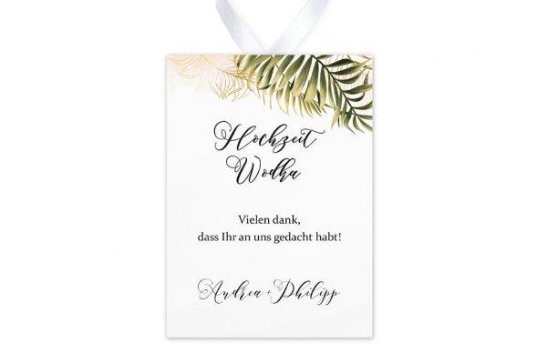 Aufkleber und Anhänger Hochzeit Greenery Exotisch Aufkleber & Etiketten Hochzeit