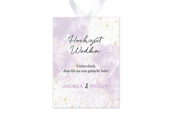 Aufkleber und Anhänger Hochzeit Batik Veilchenblau Aufkleber & Etiketten Hochzeit