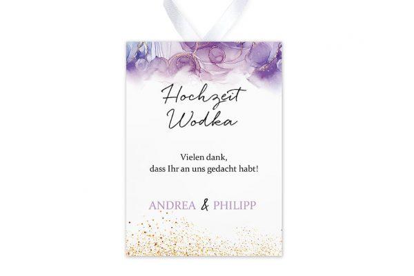 Aufkleber und Anhänger Hochzeit Batik Gold gepunktet Aufkleber & Etiketten Hochzeit