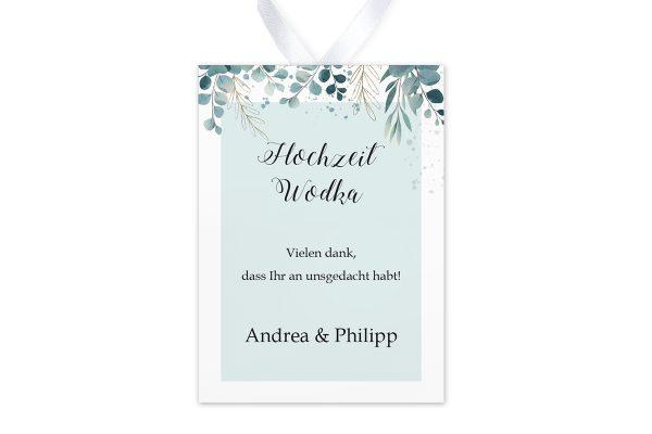 Aufkleber und Anhänger Hochzeit Tropical Eukalyptus Aufkleber & Etiketten Hochzeit