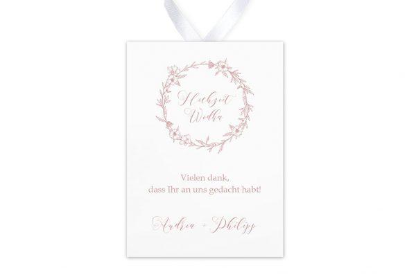 Aufkleber und Anhänger Hochzeit Rosenpracht mit Korn Aufkleber & Etiketten Hochzeit