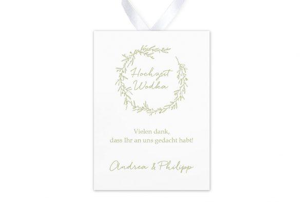 Aufkleber und Anhänger Hochzeit Rosenpracht mit wildem Gras Aufkleber & Etiketten Hochzeit
