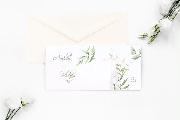 Einladungskarten mit Fotos Hochzeitseinladungen Zeichnung Gemalt