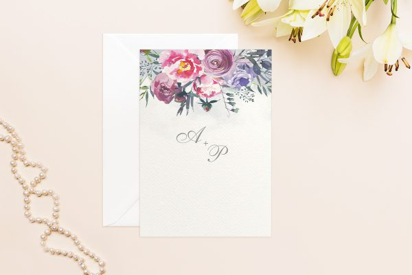 Hochzeitseinladungen Hochzeitseinladungen Aquarell Sommerlich
