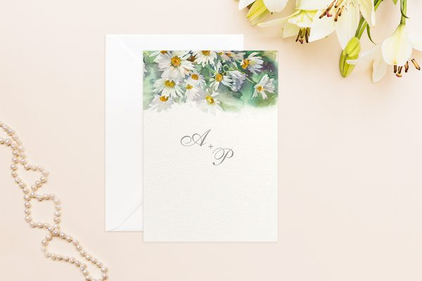 Hochzeitseinladungen Hochzeitseinladungen Aquarell Rustikal