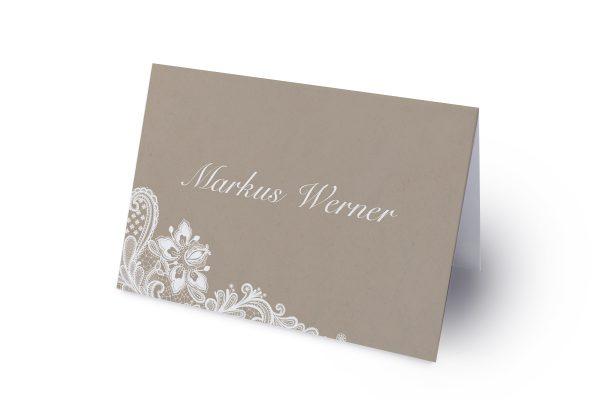 Extras Spitzentraum Vintage moon light Namenschilder & Tischkarten Hochzeit