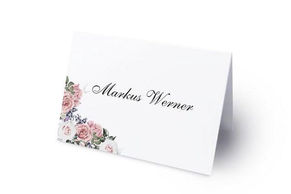 Extras Blumenherz Wohlriechend Namenschilder & Tischkarten Hochzeit