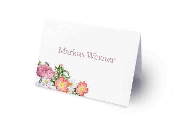 Extras Blumenbeet Apart Namenschilder & Tischkarten Hochzeit