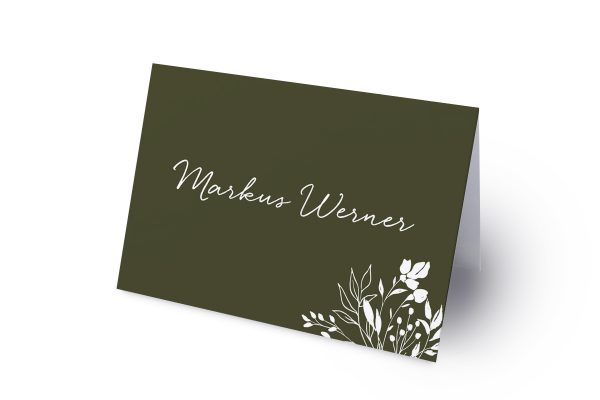 Extras Runde Sache duftend Namenschilder & Tischkarten Hochzeit