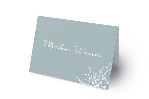 Extras Runde Sache zart Namenschilder & Tischkarten Hochzeit