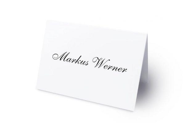 Extras Kalligraphie Pur Namenschilder & Tischkarten Hochzeit