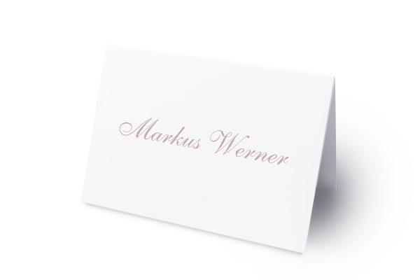 Extras Klassich Verbunden Namenschilder & Tischkarten Hochzeit