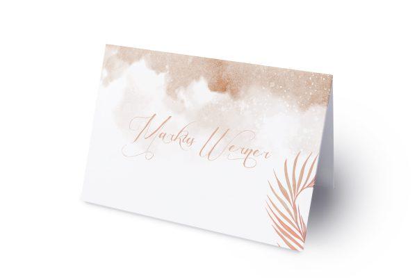 Extras Palmen fernöstlich Namenschilder & Tischkarten Hochzeit