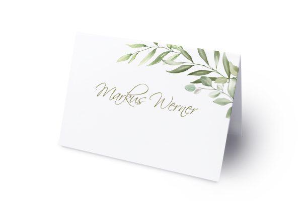 Extras Zeichnung Gemalt Namenschilder & Tischkarten Hochzeit