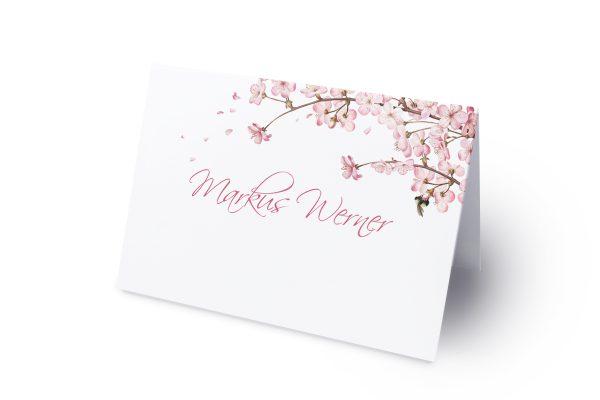 Extras Zeichnung Kirschblüte Namenschilder & Tischkarten Hochzeit