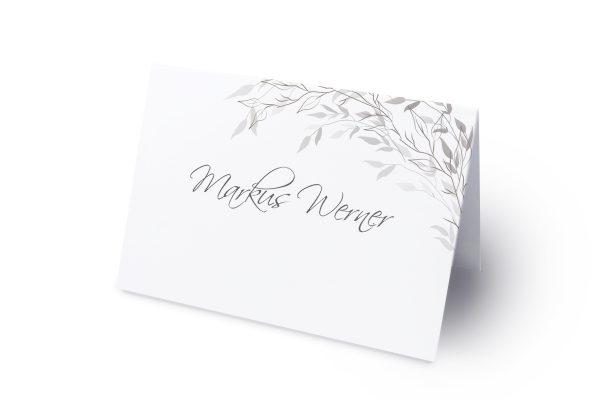 Extras Zeichnung Schwarz und Weiß Namenschilder & Tischkarten Hochzeit