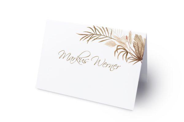 Extras Zeichnung Ausgefallen Namenschilder & Tischkarten Hochzeit