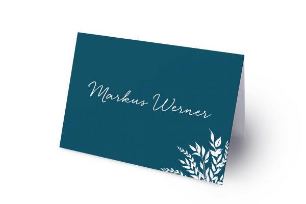 Extras Aufnahme mit einfachem Kranz Namenschilder & Tischkarten Hochzeit