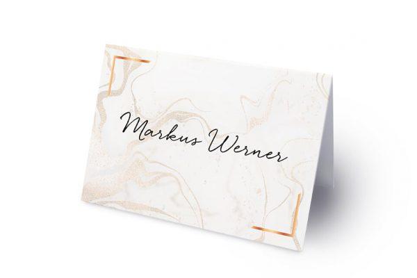 Extras Batik Marmor Namenschilder & Tischkarten Hochzeit