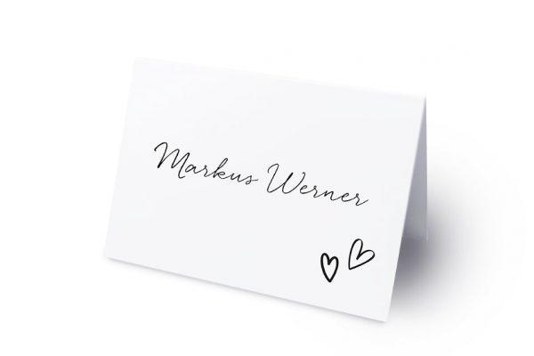 Extras Country Bast Herzig Namenschilder & Tischkarten Hochzeit