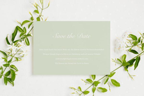 Save the Date-Karten Fotoglam Kalendarium  Save the Date Karten