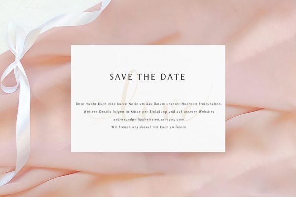 Save the Date-Karten Horizont Unbegrenzt Save the Date Karten