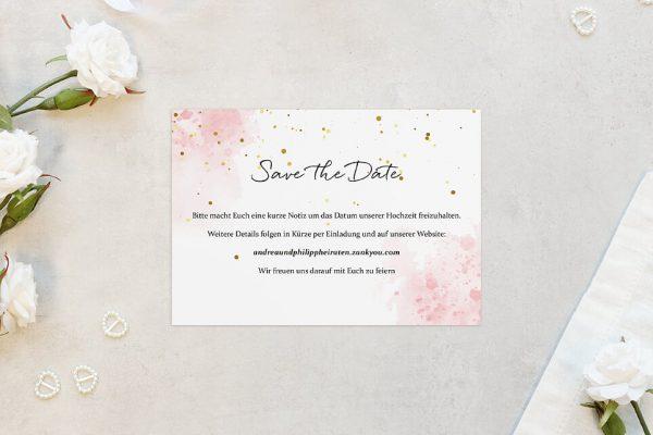 Save the Date-Karten Morgenröte Unbeschwert Save the Date Karten