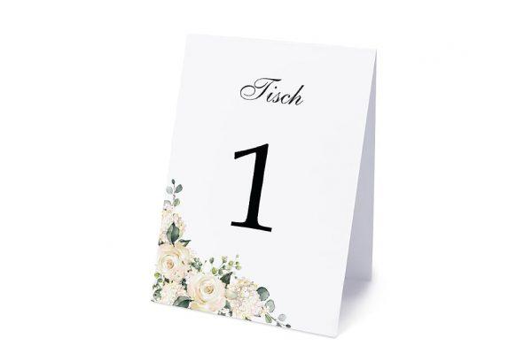 Extras Blumenherz Duftend Tischnummern