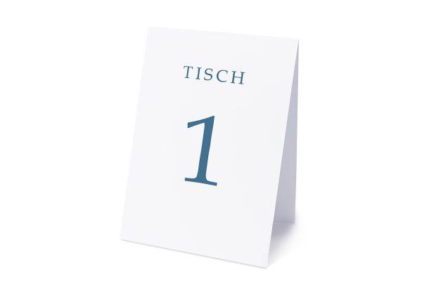 Extras Klassich Lässig Tischnummern