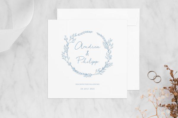 Hochzeitseinladungen Hochzeitseinladungen Rosenpracht mit Gräsern