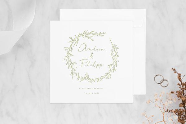 Hochzeitseinladungen Hochzeitseinladungen Rosenpracht mit wildem Gras