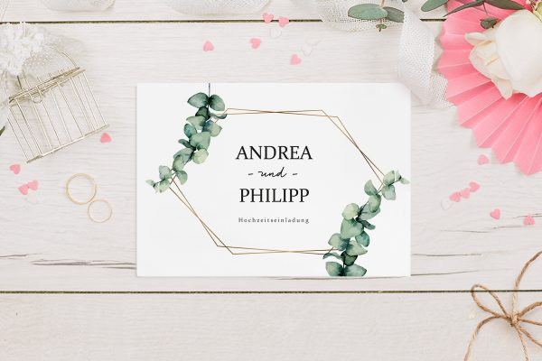 Hochzeitseinladungen Hochzeitseinladungen Floral Elegant Romantisch