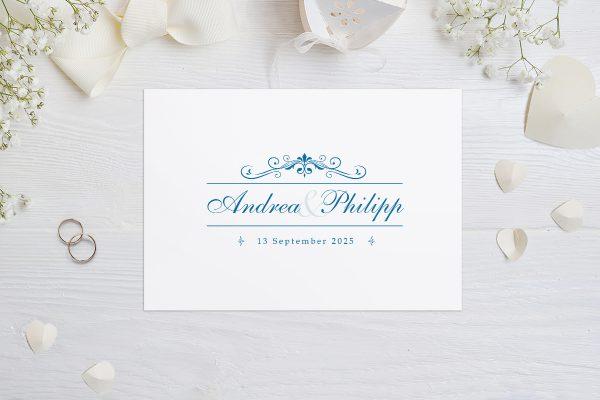 Hochzeitseinladungen Hochzeitseinladungen Klassich Verspielt