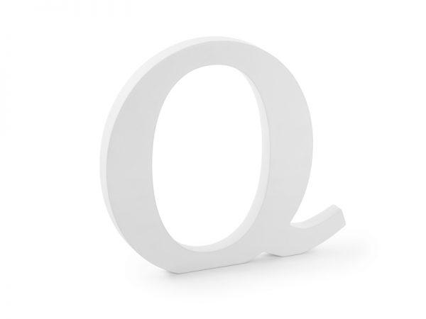 Deko und Geschenke Shop Holzbuchstabe Q