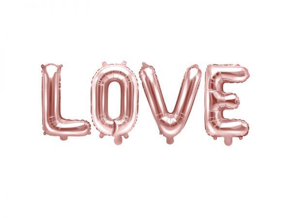 Deko und Geschenke Shop Folienballon Love