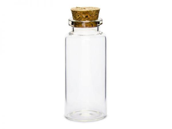 Deko und Geschenke Shop Glasflaschen mit Korkstopfen