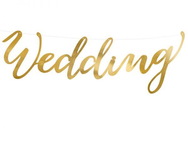 """Deko und Geschenke Shop Banner Hochzeit """"Wedding"""""""
